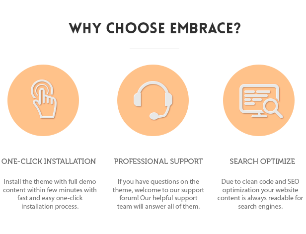 Why choose embrace
