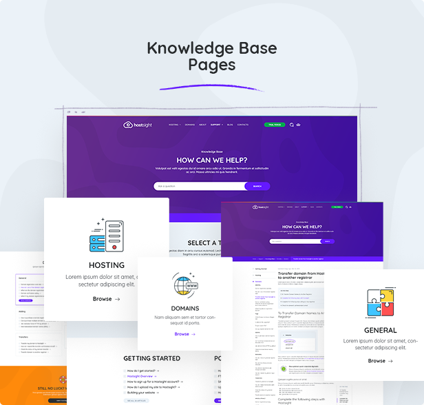 Knowledge Base Pages