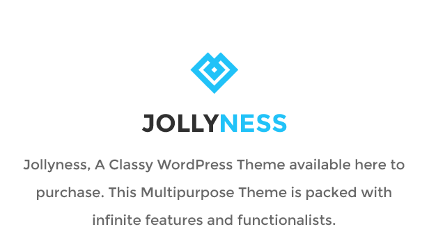 Jollyness - Multi Purpose WordPress Theme