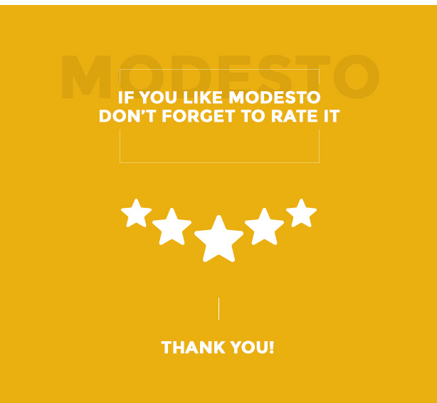 If you like modesto don?t forget to rate it