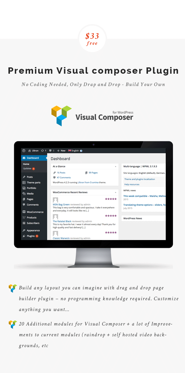 Premium Visual Composer Plugin