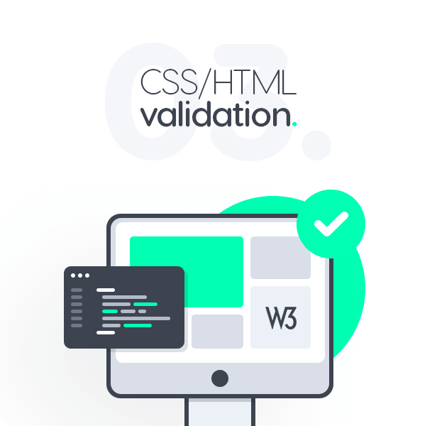 High qulity valid css/html code