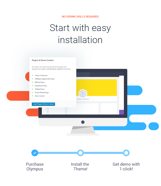 Start with easy installation