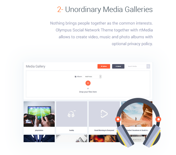 Unordinary Media Galleries